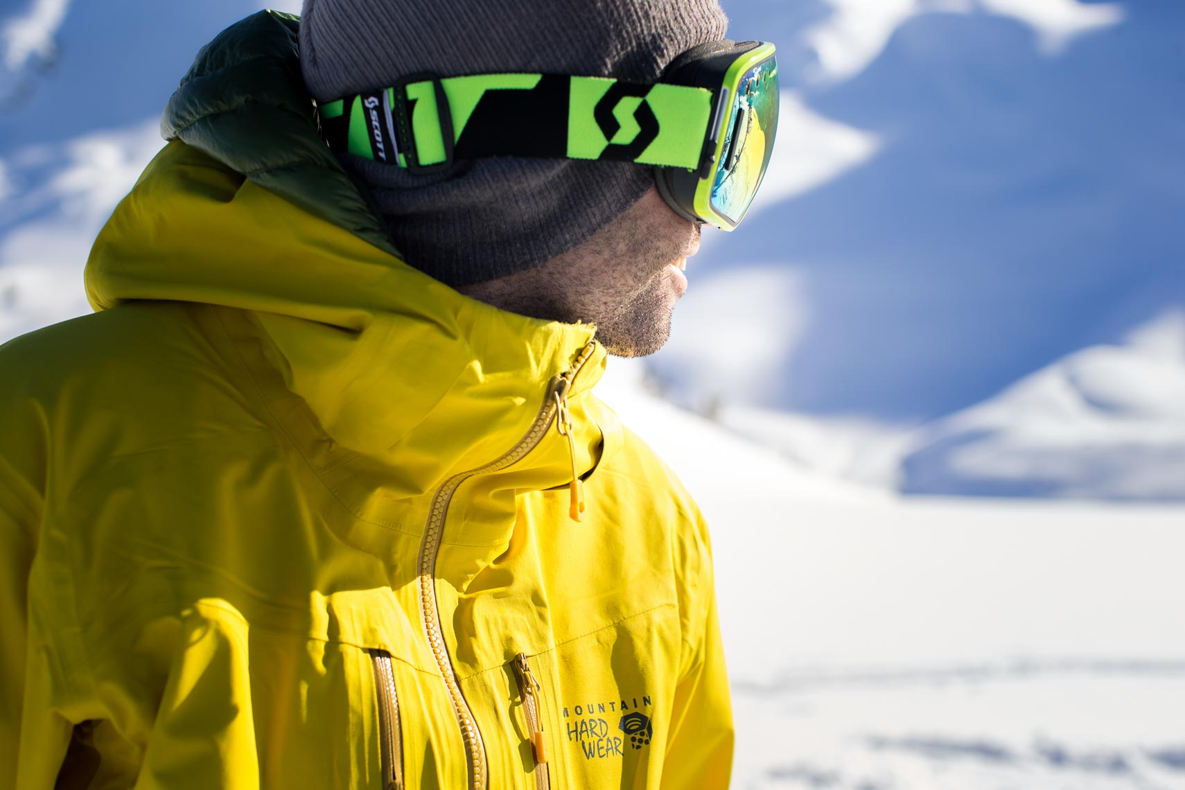 Ski lifestyle apparel photographed in whistler BC