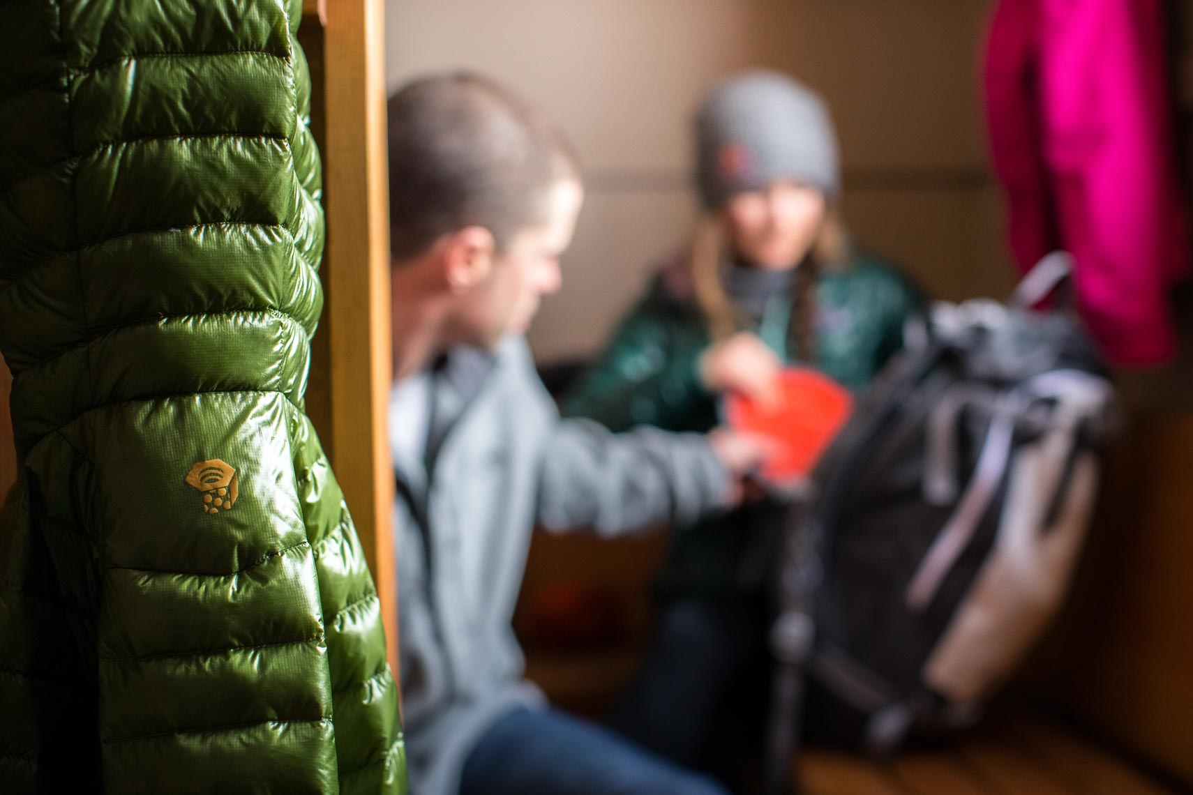 Mountain hardware winter jacket imagery by apparel and product photographer