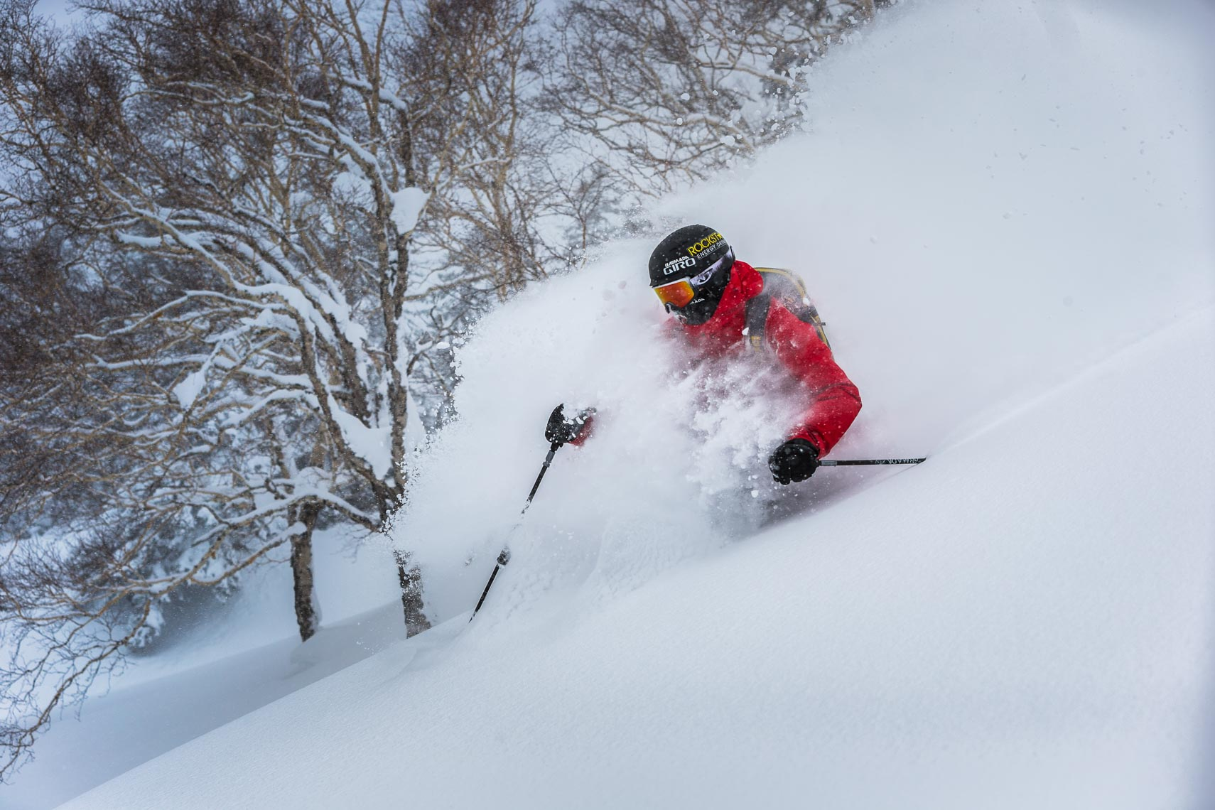 Ski action photography in Japan by Whistler ski photographer