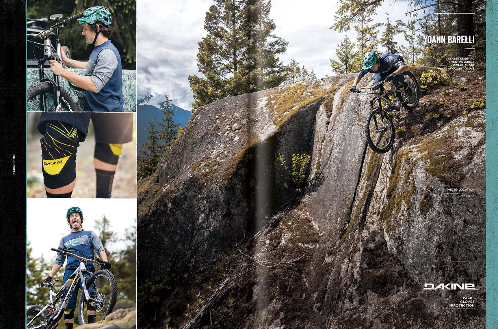 Dakine Bike Ad with Yoann Barelli - Robin O