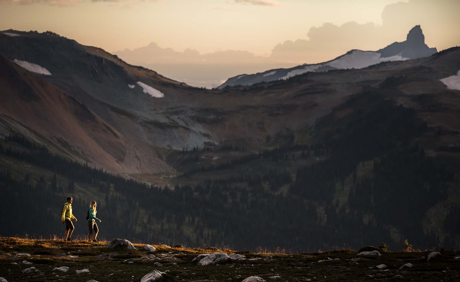 Outdoor lifestyle hiking photography in nature, in Whistler, BC