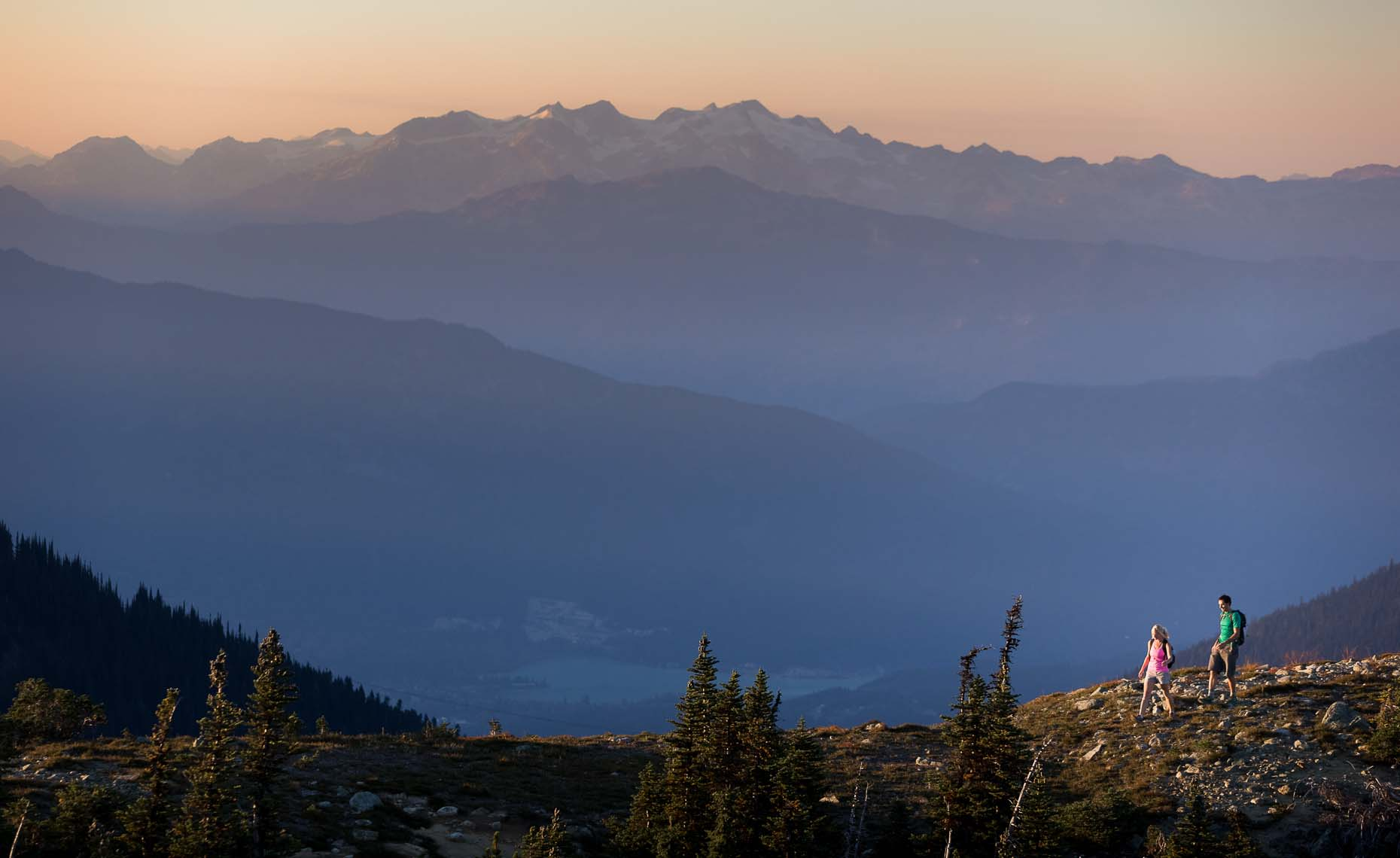 Hiking and lifestyle photographer in whistler