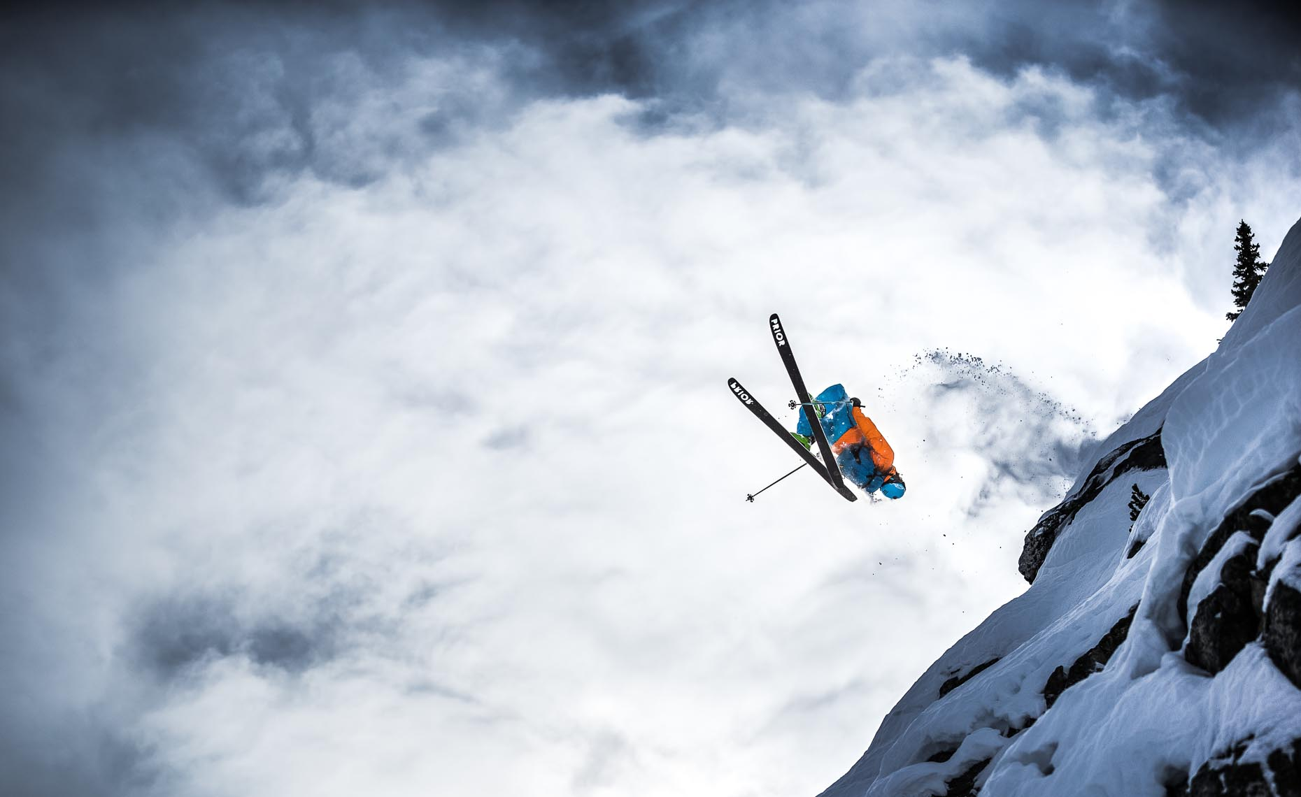Pro ski action photographer from whistler