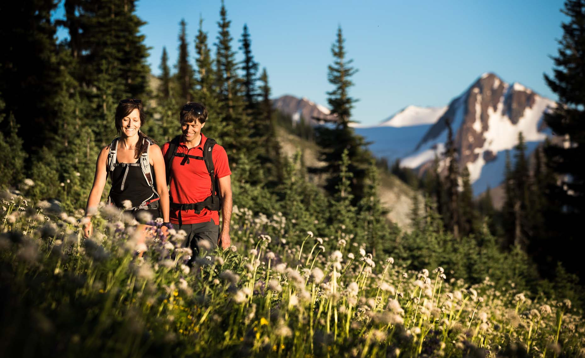 Outdoor lifestyle photography in whistler