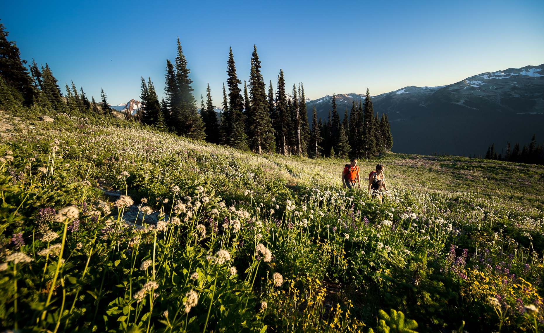 Outdoor lifestyle scenic photography in Whistler